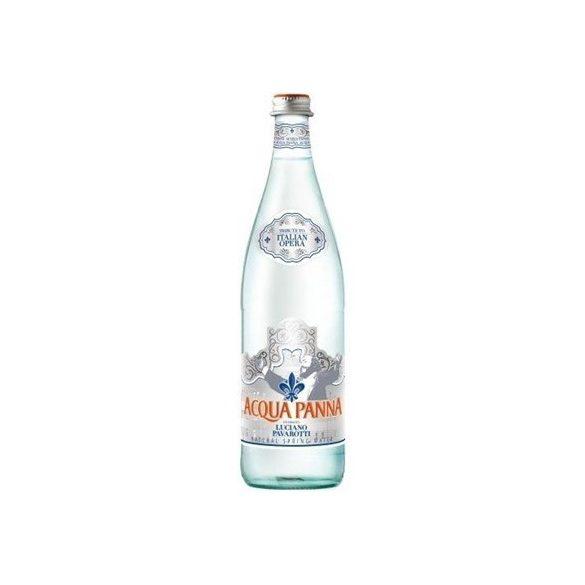 Acqua Panna 0,75l mentes ásványvíz üvegben