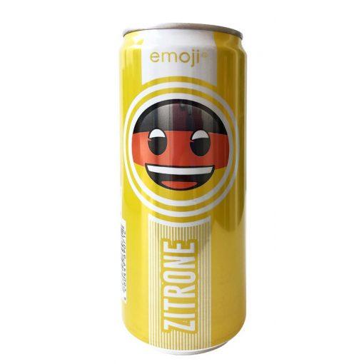 Emoji Drink-Keep smiling-citrom ízű  ital 300ml alu dobozban