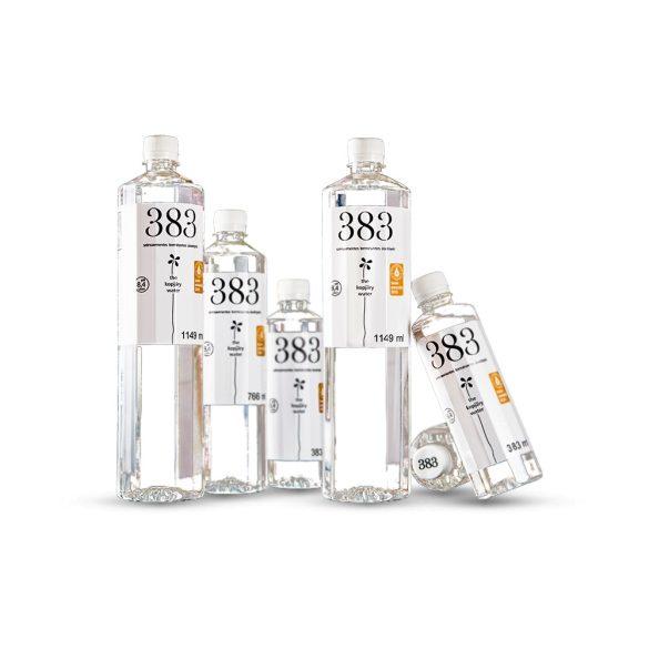 Kopjary 383 mentes ásványvíz 0,383l pet palackban