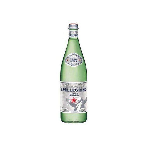 San Pellegrino 0,75l szénsavas ásványvíz üvegben