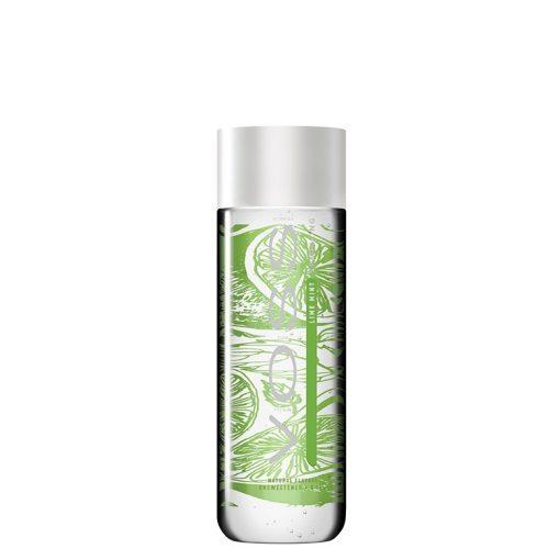 Voss 0.33l lime-menta ízesítésű szénsavas ásványvíz PET palackban